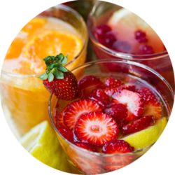 Canape Catering Beverages Fruits