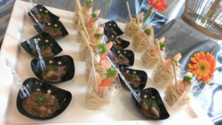 Royale Canape presented by Canape Catering Malaysia.