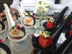 buffet & canape catering services presented by canape catering malaysia