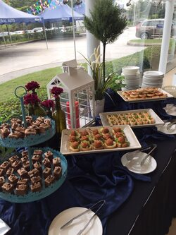royale canape catering services presented by canape catering malaysia for volvo showroom glenmarie on 5th nov 2016
