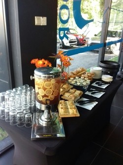 food catering services provided by canape catering malaysia for auto bavaria bmw kl & glenmarie