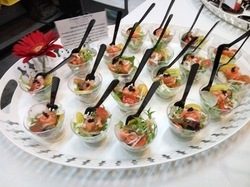 anape catering presented by Canape Catering Malaysia for Shell